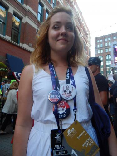 Republican National Convention 2016 - Cleveland - Alex Anderson1339